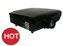 Hot! Projector and ceiling mount - HDMI, VGA, Audio, Video, TV Tuner