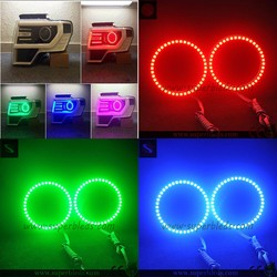 DC12v multiple colors 2.0mm pcb panel SMD angel eye for jeep headlight kit