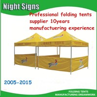 promotional/tent for sale/advertising tent/silk screen printed steel folding tents