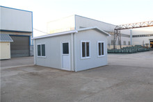 sell good steel frame modern prefab home 40ft shipping container price