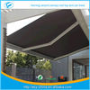 New High qualityNew Deluxe Full Cassette Used Awning / awnings Prefab Electric Retractable door entrance awning