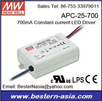 Mean Well power supply 700mA Driver APC-25-700