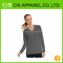 Hot Sale Women Long Sleeve Tee Made In China
