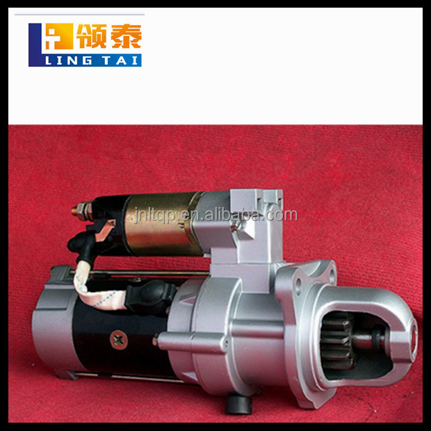 Hot sale reduction starter motor WEICHAI WP12 truck engine parts