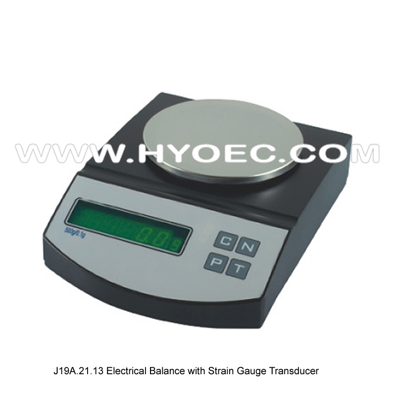 Strain Gauge Transducer Balance With Strain Gauge