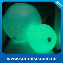 Party Supply heart shape inflatable led ball