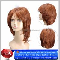 Top quality heat resistant kanekalon short synthetic hair wigs, isis natural hair