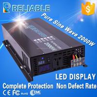 Manufacturer Supply 36V DC to 220V AC 2000W Pure Sine Wave Power Inverter