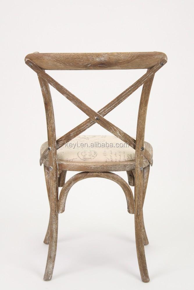 wooden antique cross back dining chair wedding chair ch 532 oak