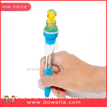 OEM custom cheap promotionPen Stamp bubble electric Multi-Functional pen