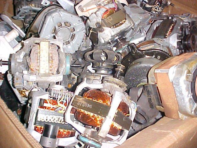 Reciclado Chatarra Motores El Ctricos De Electrodom Sticos