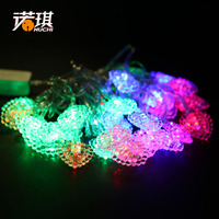 Nuoqi 5.5 m cherries models LED string lights Christmas tree decorated with light jacket decorated holiday scene 120g