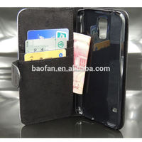 DIY stand sublimation leather phone case for S5