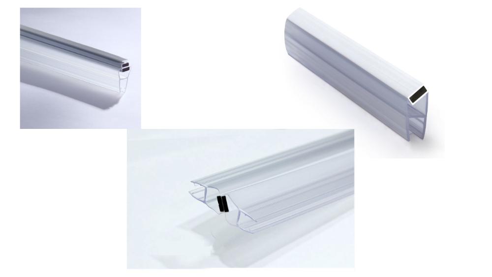 Wholesale Custom Clear Plastic Shower Door Seal Strip Oem