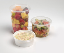 disposable plastic deli container