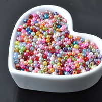 12mm Mixed Pearl Beads Acrylic Spacer Ball Round Beads Fit Jewelry Handmade DIY