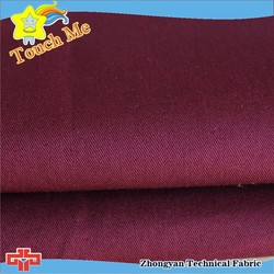 100% cotton 3/1 twill fabric cloth uniform fabric
