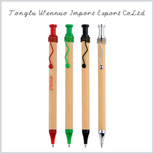Promotional top quality colorful eco-friendly paper pen