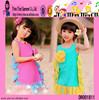 Fancy Cotton Dress Wholesale Baby Girls Soft Material Dress Wholesale