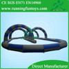 Guangzhou inflatable race track, Outdoor race track inflatable car road racing track