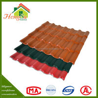 New product promotion erformance synthetic resin roofing materials spanish tile