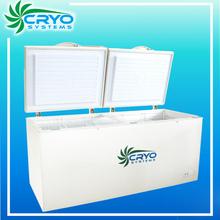 Movable beverage freezer display coolers