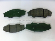 brake pads 04465-0k160 for toyota parts