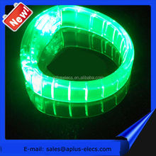 2016 Custom Sound Activated LED Bracelet For Promotional Gift, Pubs, Concert, Holidays, Night Racing Or Party Usage