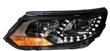 modified car light manufacturer Auto Head Lamp /head light white light with LED for VW tiguan