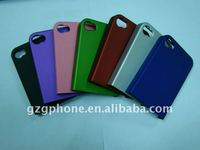 rubber feel two parts PC case for new iphone 4/4S