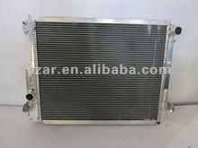 High performance aluminum radiator for Ford Mustang Performance Aluminum Radiator 2005+