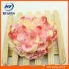 Latest lovely elastic knit band artifical flower infant headbands