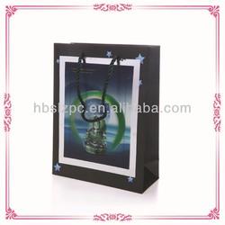 Fancy 3D PP Gift Bag Laser PP Shopping Bag 3D Paper Bag