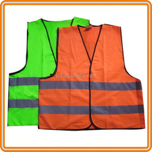 wholesale safety work 100% polyester mesh reflectorized vest for men
