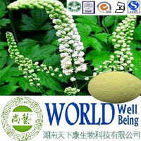 Hot sale Black cohosh extract/Cohosh Root Extract/Triterpene 8%/Delay age plant extract