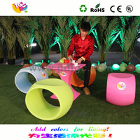 Colorful outdoor children furniture set made in china