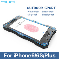"Durable Shockproof Rugged Hybrid Armor Impact Belt Clip Holster Stand Case Cover For iphone 4 4S 5 5S 6 4.7"" 6 plus 5.5"" Shell"