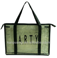 Clear Pvc Tote Bags Round Handle,Pvc Handle Bag Pu Bag
