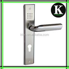 2015 new design european door handles and locks N13
