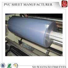 pvc transparent film/rigid pvc film for blister pack/rigid pvc plastic sheet