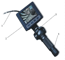 4 Way Articulating Borescope Can Upgrade to 360 Degree No Dead Zone Rotation Camera