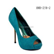 Customized Ladies 2016 fashion wedding shoes