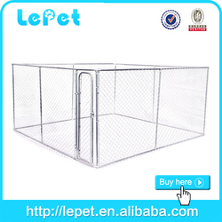 6ft dog kennel cage/pet cage/stainless steel pet cage