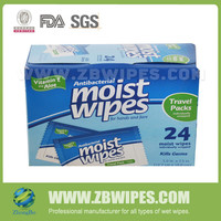 Private lable Antibacterial Sanitizer Wet Tissue