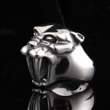 Tiger tooth Ring Stainless Steel Man's Huge Cool Animal Jewelry