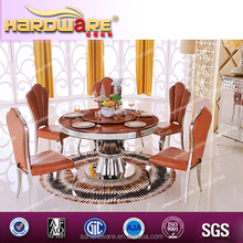 Good looking high quality round rotating dining table by best supplier