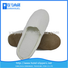 Pure white cheap daniel waffle slippers