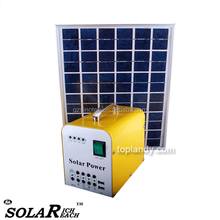 SINOTEK 10W 20W 12V small home use solar generators