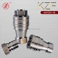 KZF 1/2 BSP HYDRAULIC HEX NIPPLE S.S 304 GRADE QUICK COUPLER
