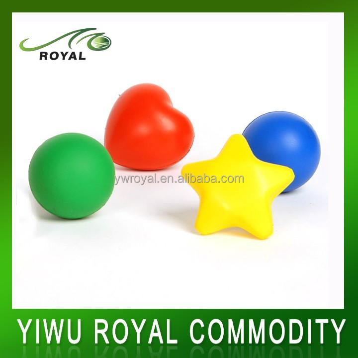 Promotional Soft PU Foam Reliever Custom Anti Stress Ball